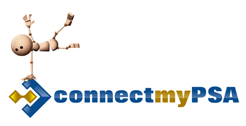 connectmyPSA Logo